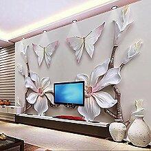 Dreidimensionales Schmetterlingsorchideenpapier