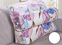 Dreieck Bedside Rückenlehne Kissen Büro Lendenwirbelsäule Rücken Pille Bett Kissen Kissen Kissen Kissen ( Farbe : B3 , größe : 60*50cm )