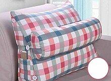 Dreieck Bedside Rückenlehne Kissen Büro Lendenwirbelsäule Rücken Pille Bett Kissen Kissen Kissen Kissen ( Farbe : A6 , größe : 60*50cm )