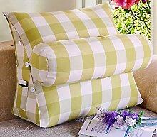 Dreieck Bett Kopf große Kissen Büro Taille Rücken Kissen Matratze Nackenstütze Kissen Sofa Kissen Kissen ( Farbe : 3# , größe : 25*50*60cm )