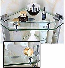 Dreieck Dusche Glas Regal Ecke Rack Badewanne