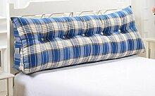 Dreieck große Kissen Bedside Soft Bag Doppelte Paar Kissen Sofa Kissen ( Farbe : A7 , größe : 135cm )