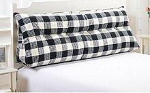 Dreieck große Kissen Bedside Soft Bag Doppelte Paar Kissen Sofa Kissen ( Farbe : A3 , größe : 90cm )