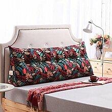 Dreieck Kissen Doppelbett Schlafsofa Bettlehne Bett Rückenlehne Großer Schlafanzug Relaxable ( Farbe : B5 , größe : 100*50*25cm )