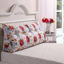 Dreieck Kissen Doppelbett Schlafsofa Bettlehne Bett Rückenlehne Großer Schlafanzug Relaxable ( Farbe : A4 , größe : 180*50*25cm )