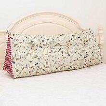 Dreieck-Kissen durch das Paket-Kissen-doppeltes Bett-Kopf-weiche Beutel-Bett-Kissen-Bett-Rückseite ( Farbe : 5# , größe : 20*50*150cm )