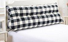 Dreieck Kissen Kissen Double Bedside Soft Pack Bett Große Hebel Bett Rückenlehne abnehmbar ( Farbe : A3 , größe : 60 )