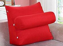 Dreieck Kissen Kissen Nackenkissen / Sofa Kissen / Büro Lendenwirbel Rücken Pad / Bett Kissen ( Farbe : B , größe : 45*45*20cm )