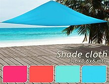 Dreieck Sonnensegel - Sonnschutz in versch. Farben & Größen Sonnenschutz & Sichtschutz 3,6 x 3,6 x 3,6 m Lachs
