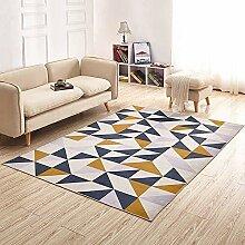 Dreieckigen Block Gedruckt Teppich,Pelzigen