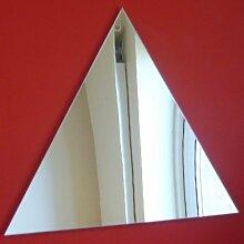 Dreieckiger Spiegel 20cm x 20cm