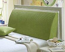 Dreieckkissen European-style Home Waschbare Cornflakes Dreieckige Bett Soft Bag Kissen Bett Curved Back Taillenkissen ( Farbe : B , größe : 180*50*10cm )
