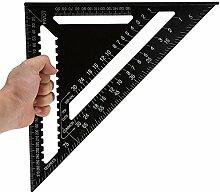 Dreieckslineal, 30,5 cm, Aluminiumlegierung,