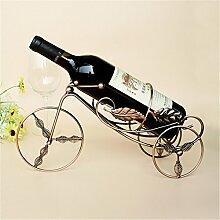 Dreirad Form Weinregal Küche Halter gratis