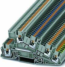 Dreistockklemme 0,14-4qmm PTI 2,5-PE/L/N,Elektroinstallation,Phoenix Contact,PTI 2,5-PE/L/N,4046356609623