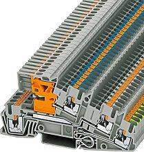 Dreistockklemme 0,14qmm-4qmm PTI 2,5-PE/L/NT,Elektroinstallation,Phoenix Contact,PTI 2,5-PE/L/NT,4046356609661