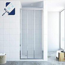 ® Dreiteilige Schiebetür für Nische Duschtür