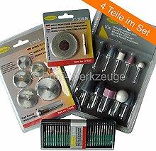 Dremel und Proxxon Mini Drill Zubehör Set von