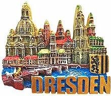 Dresden Deutschland 3D Landmark Kühlschrankmagnet