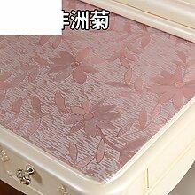Dresser tischtuch/wasserdicht,weichglas,europäisch,pvc,tv-schrank,baumwoll-tischtuch/einweg,nacht tischdecke-D 50x180cm(20x71inch)