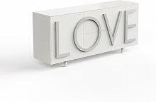Driade Love Sideboard B 183cm verkehrsweiß /