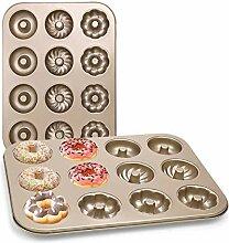 DricRoda Donut-Backform mit 12 Mulden,