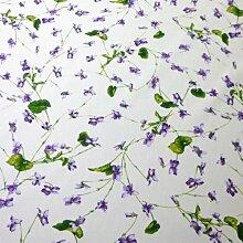 Driessen Schlitzer Leinen Tischdecke Viola 100x100