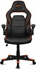 Drift DR75 – Gaming-Stuhl aus Kunstleder 67x53x124 cm Schwarz/Orange