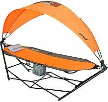 driftsun Tragbare Rasen, Terrasse und Camping Hängematte mit Dach für Sun Schutz und Komfor