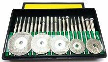 DRILAX 25 Stück Diamantbeschichtete Scheiben