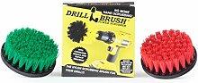 Drill Brush - Indoor/Outdoor Medium und Stiff