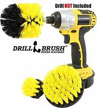 Drillbrush All Purpose Badoberflächen Dusche,