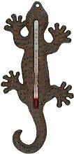 DrillMan Gartenthermometer aus Gusseisen,