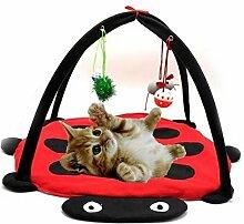 Drove faltbar Pet Living Pop-Up Spielwürfel für Katzen Hängematte Kratzbaum Beatle Zel