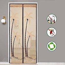 Drucken Fliegengitter Tür,vollen Rahmen Velcro