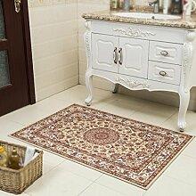Drucken Rechteck Badezimmer Rutschfeste Matte Küche Teppich Türmatten Teppich Badezimmer Tür Absorbierendes Pad , I , 80cm*120cm
