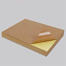 Drucker Teile 50 Blatt A4 Brown Kraftpapier