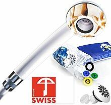 Druckerhöhendes Wasserspar-Duschkopf-Set PLAYA: