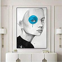 Druckgrafik Wandkunst Frauen Dekoratives Bild