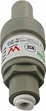 Druckminderer für Wasserfilter, SbS Kühlschrank, Umkerosmose Filter, Druckreduzierer für Geräte mit Wasserschlauch 1/4 Zoll (6,4mm) Druckregler