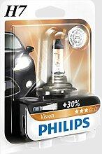 DRULINE H7 Philips Vision 30% mehr Licht Halogen