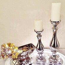 DRULINE Kerzenleuchter Kerzenständer Kerze Deko
