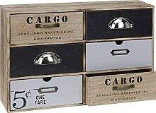 DRULINE Mini Kommode Cargo Schränkchen