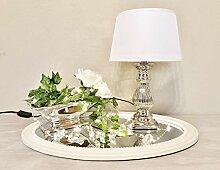 DRULINE Tischlampe Steffi Lampe Nachttischleuchte