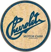 DS - Großes Rundes Auto Garage Chevrolet Vintage