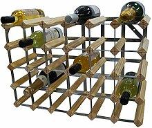 DS Wine Wine Traditionelles Weinregal für 30
