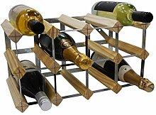 DS Wine Wine Weinregal für 12 Flaschen,