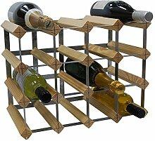 DS Wine Wine Weinregal für 16 Flaschen,