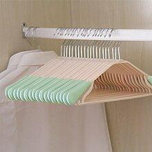 DSAQAO Anti-rutsch kleiderbügel, Packung mit 20