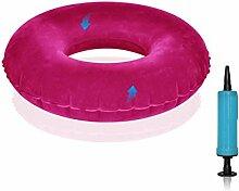 DSAQAO Aufblasbaren Donut-Ring-Kissen,